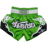 Green Fluory Fight Shorts