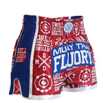 Pop Fluory Muay Thai Shorts (Red)