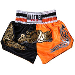 ANOTHER BOXER Black/Orange Muay Thai Shorts