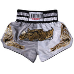 ANOTHER BOXER Grey/White Muay Thai Shorts