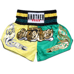 ANOTHER BOXER Yellow/Green Muay Thai Shorts