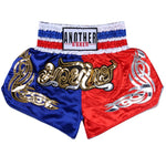 ANOTHER BOXER Blue/Red Muay Thai Shorts