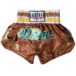ANOTHER BOXER Brown Muay Thai Shorts
