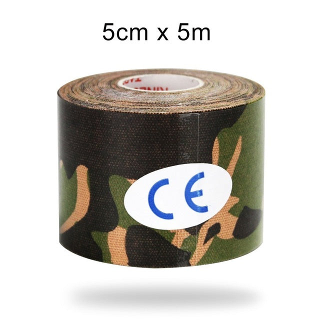 5cm/2.5cm Camo Elastic Tape/Athletic Recovery Bandage