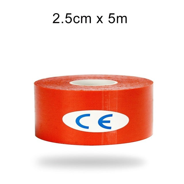 2.5cm Multi Color Elastic Tape/Athletic Recovery Bandage