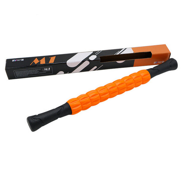Orange Massage Roller Stick/Foam Roller