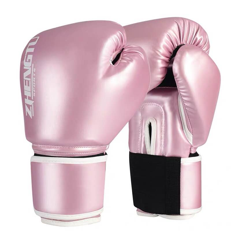 ZTTY Chrome Pink Muay Thai Gloves