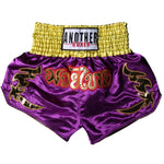 ANOTHER BOXER Vibrant Purple Muay Thai Shorts
