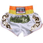 ANOTHER BOXER White Fury Muay Thai Shorts