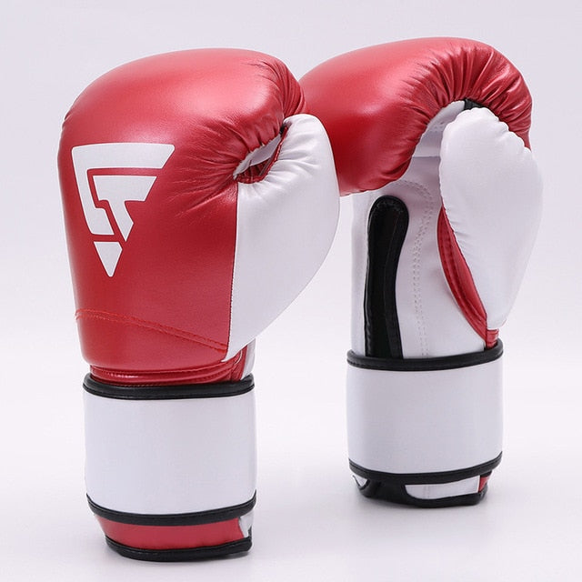 ZTTY Tri Red Muay Thai Gloves