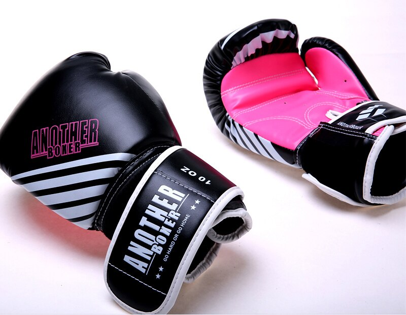 ANOTHER BOXER Dynamic Candy Pink/Black Muay Thai Gloves