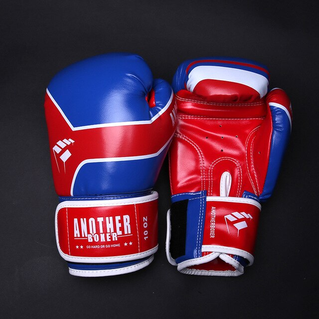 ANOTHER BOXER Buster Blue/Red Muay Thai Gloves
