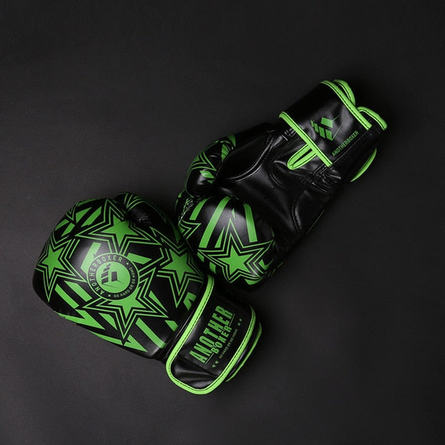 ANOTHER BOXER Star Green Muay Thai Gloves