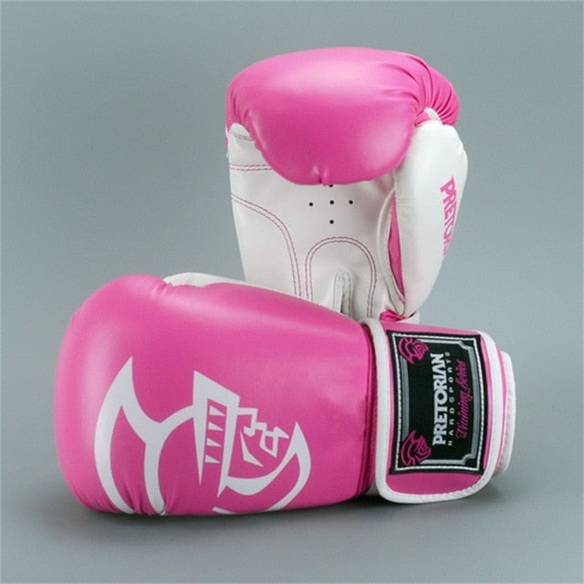 Pink PRETORIAN Muay Thai Gloves