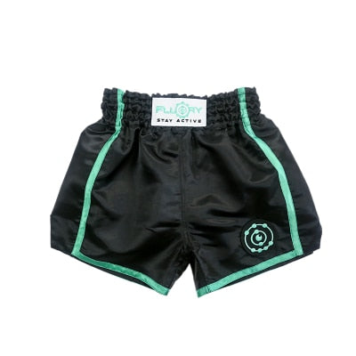 Fluory Trainer Muay Thai Shorts Green