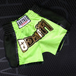 ANOTHER BOXER Lime Green Muay Thai Shorts