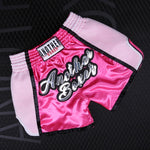 ANOTHER BOXER Pink Muay Thai Shorts