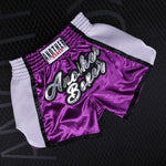 ANOTHER BOXER Purple Muay Thai Shorts