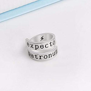 Anillo - Expecto Patronum - Ajustable -Harry Potter