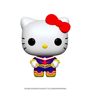 Funko Pop! Animation: Sanrio/My Hero Academia - Hello Kitty-All Might
