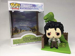 Funko Pop Deluxe: Edward Scissorhands - Edward & Dino Hedge
