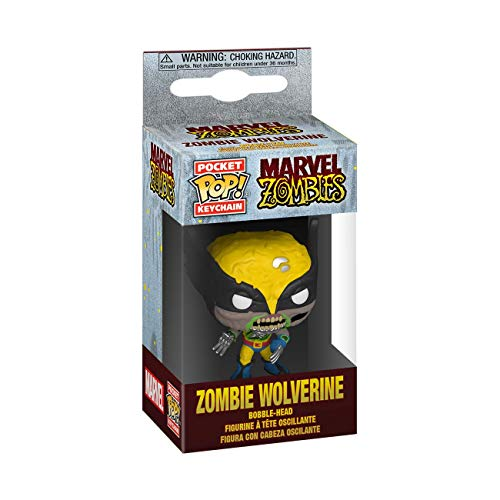 Funko Pop! Llavero : Marvel Zombies - Wolverine,