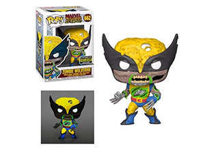 Funko Pop! Marvel Zombies Wolverine -Glow-in-the-Dark Exclusive E.E