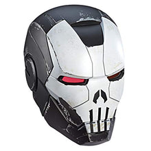 Cargar imagen en el visor de la galería, Marvel Legends Series - Casco Iron Man Silver Mark II : The Punisher