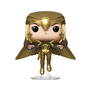 Funko Pop! : Wonder Woman 1984 - Wonder Woman Gold Flying (Metallic)