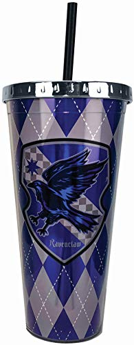 Vaso Harry Potter Ravenclaw  Cup w/Straw, 20 Oz