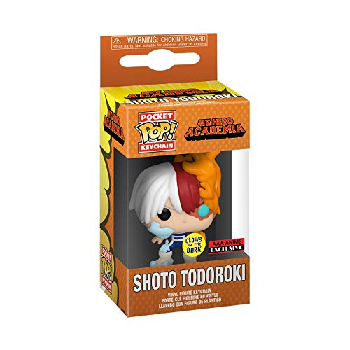 Llavero Funko Pop! My Hero Academia Shoto Todoroki- (AAA Anime exclusivo)