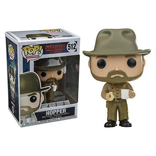 Funko Pop! Tv: Stranger Things-Hopper with Donut