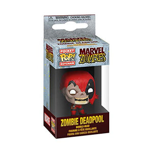 Funko Pop! Llavero: Marvel Zombies - Deadpool,