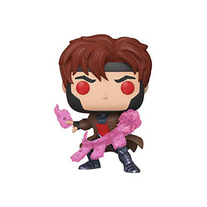 Funko Pop Marvel - X-Men Classic Figurina - Gambit with Cards,