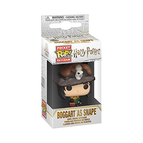 Funko Pop! Llavero - Harry Potter Snape as Boggart,