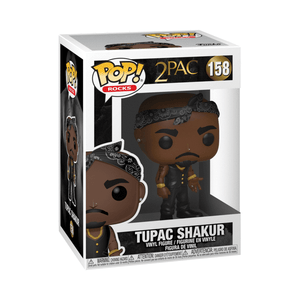 Funko Pop! Rocks: Tupac - Vest with Bandana