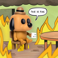 Cargar imagen en el visor de la galería, *PREVENTA* Funko Pop! This is Fine Dog Pop! Vinyl Figure - E.E Exclusive