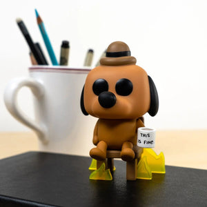 *PREVENTA* Funko Pop! This is Fine Dog Pop! Vinyl Figure - E.E Exclusive