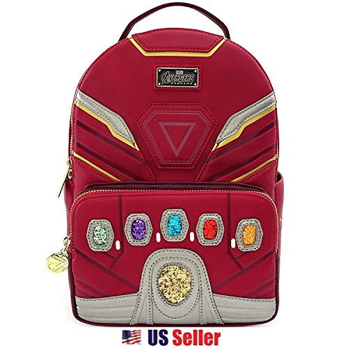Loungefly Mini Mochila Marvel Iron Man Iron Gauntlet