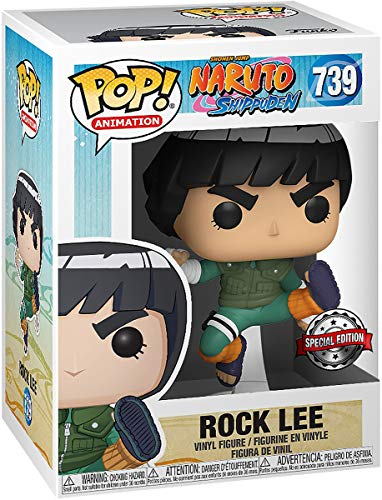 Funko Pop! -Naruto Shippuden - Rock Lee #739 Special Edition