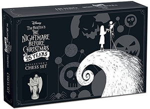 "Juego de ajedrez ""The Nightmare Before Christmas"""