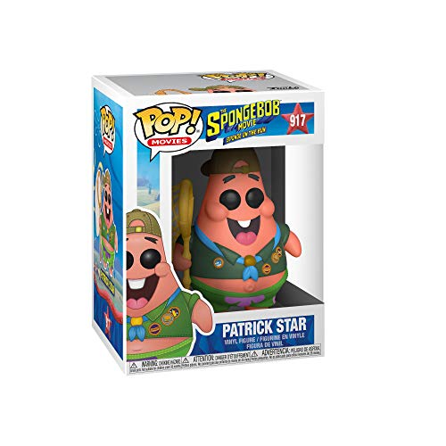 Funko Pop! - Spongebob Movie  Patrick in Camping Gear,