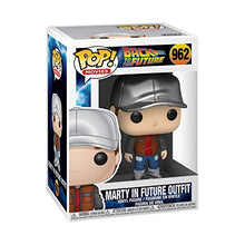 Cargar imagen en el visor de la galería, Funko Pop! Movies: Back to The Future - Marty in Future Outfit