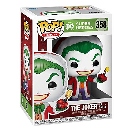 Funko Pop!  DC Heroes  DC Holiday - Santa Joker