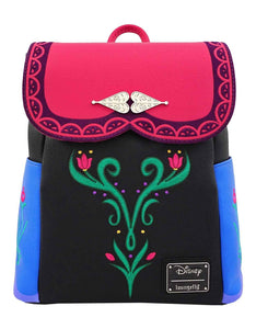 Loungefly Mini Mochila Disney Frozen Anna Cosplay