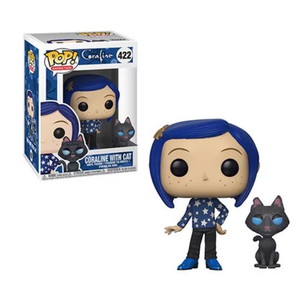 Coraline Coraline with Cat Buddy Pop! Vinyl Figure #422