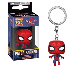 Llavero Pop! Spider-Man: Into the Spider-Verse Peter Parker Pocket Pop!