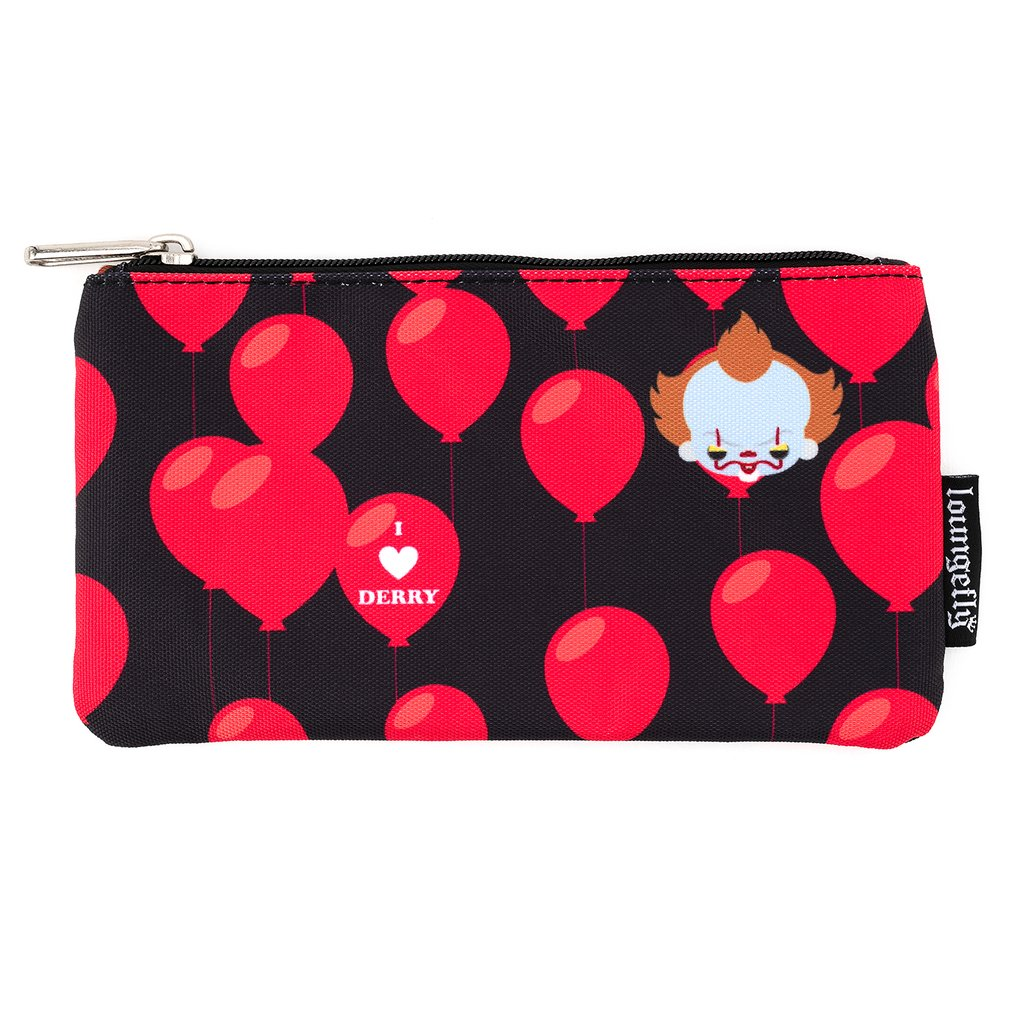 Loungefly It i Heart Derry Aop Nylon Pouch Lapicero