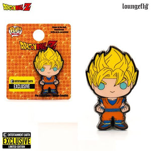 Dragon Ball Z Super Saiyan Goku Pop! Enamel Pin - E.E. Exclusive