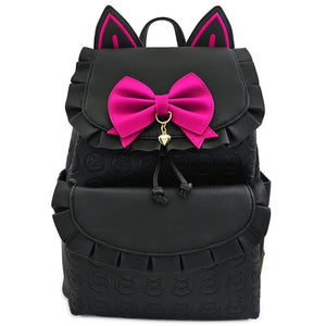 Loungefly Overwatch D.Va Black Cat Cosplay Mini-Mochila